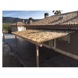 Panel teja envejecida (albero)